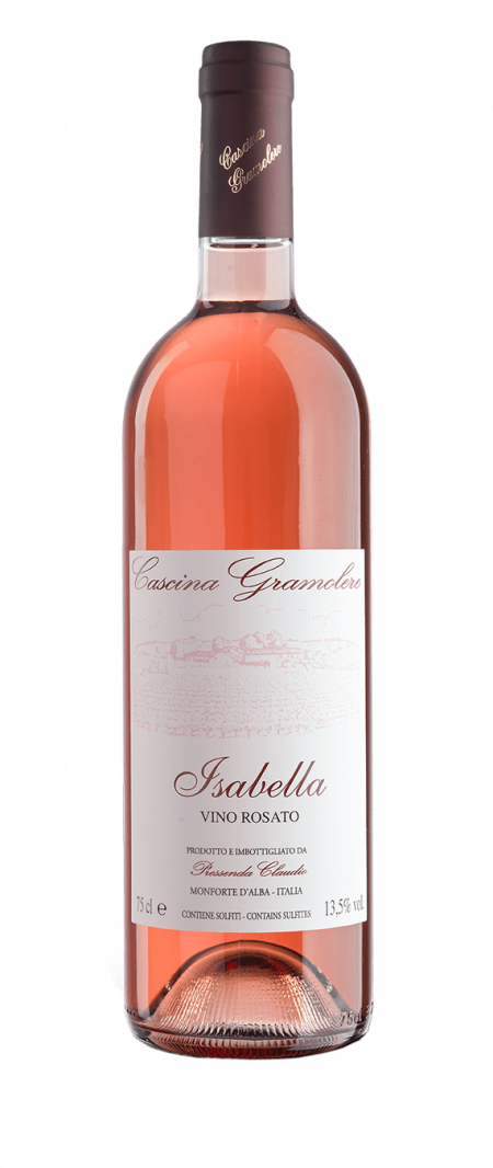 Vino rosato Isabella - Gramolere (bottle)