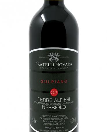 Terre Alfieri DOCG Sulpiano - Fratelli Novara (bottle)
